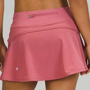 NWT LULULEMON Play Off The Pleats Rose Pink 4